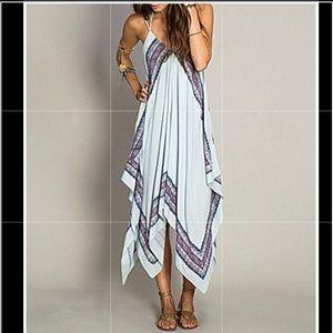 O'Neill Galaxy Hanky Hem Maxi Dress